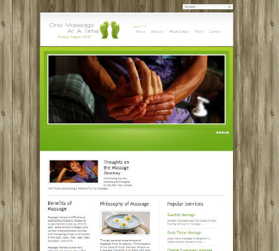 WordPress website by DeBruine Design in Bellingham, WA.
