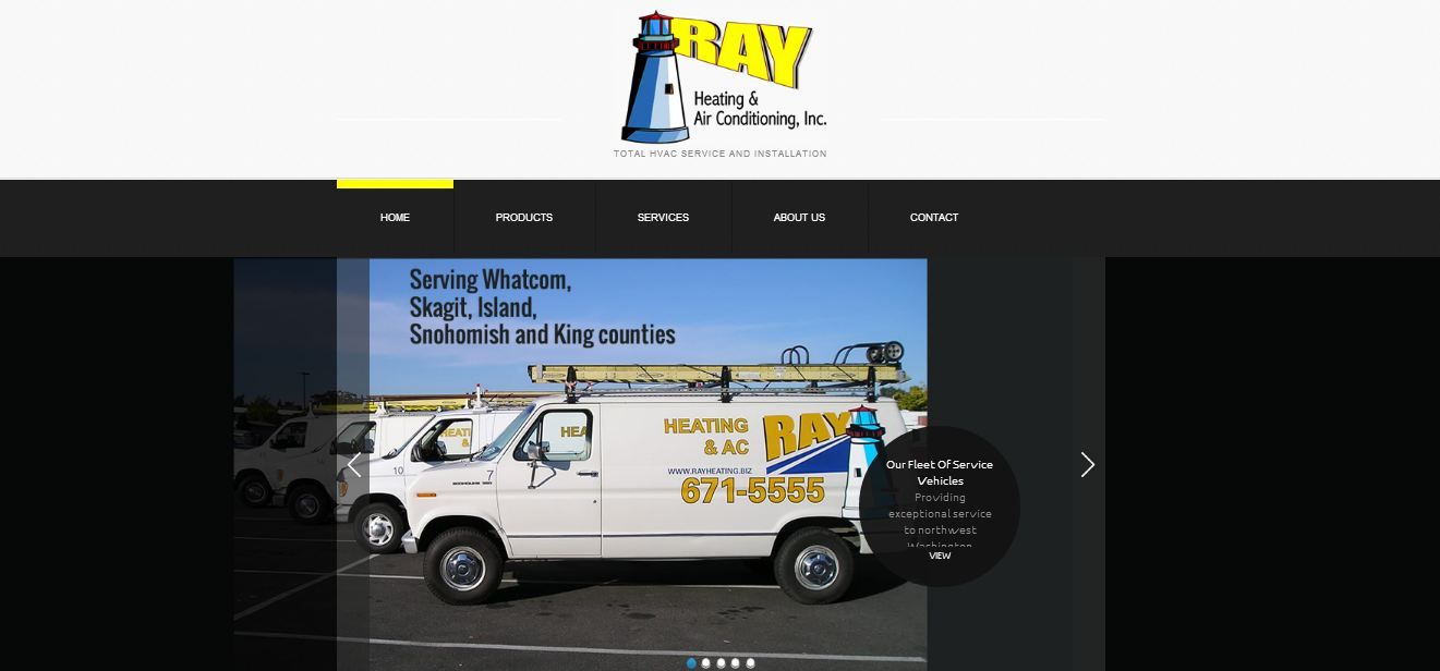 WordPress Development for Whatcom County HVAC Company