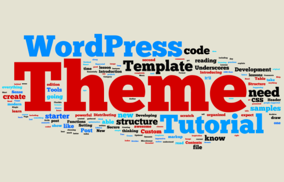 How to build a Wordpress Theme